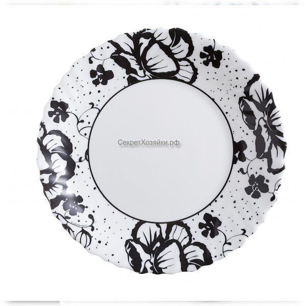 картинка блюдце черно белая
