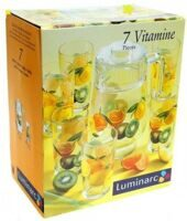 Набор для воды Luminarc FRUITISIMMO VITAMINE 7 предметов H3145