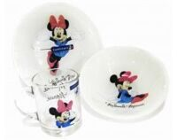 Детский набор Luminarc MINNIE COLORS 3 предмета ОАЭ L2120