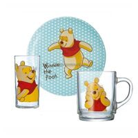 Набор детский Luminarc DISNEY WINNIE COLORS CHILD H5307 (3 предмета)