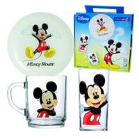 Детский набор Luminarc MICKEY COLORS 3 предмета ОАЭ 38758 J1704 L2124