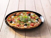 Блюдо для пиццы Luminarc FRIENDS TIME PIZZA BLACK 32 см 46832/M0066